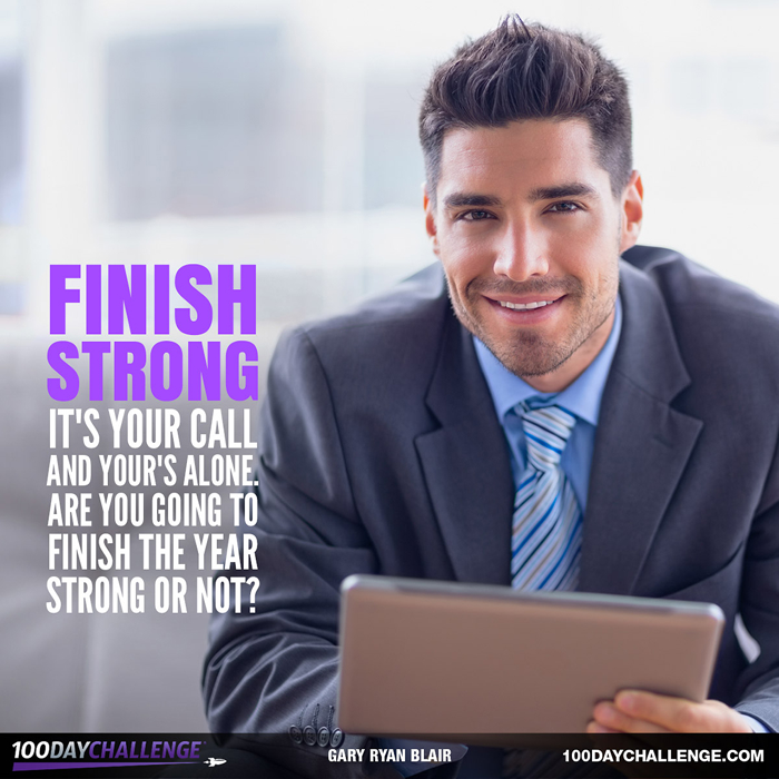 Finish Strong – Never Settle