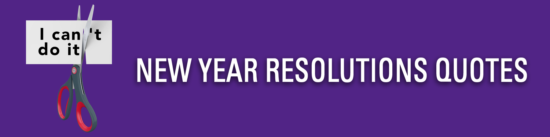 New Year Resolutions Quotes